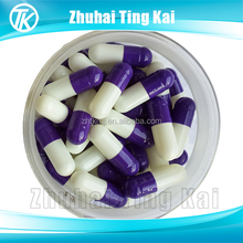 Customized size 000 00 0 1 2 3 4 5 colored empty hard gelatin capsules