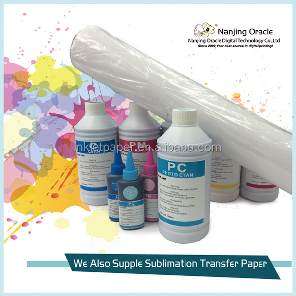 Dye Printing Sublimation Ink,wide format sublimation inks