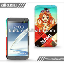 one piece series ! 3d cartoon phone case for samsung galaxy note 2 7100