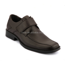 Runto factory direct wholesale brown shoes comfortable soft genuine leather dress shoes Turkish style men shoes