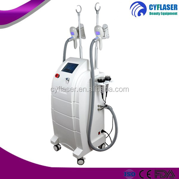Cheap price 4 handles cryo anti cellulite body shaping machine for sale with cryo rf system