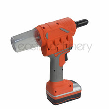 18V 2.0Ah 9000N.m Li-ionCordless Battery Riveter Electric Nail Gun Rivet Nut Gun Cordless Nailer Battery Nailer Riveting Gun