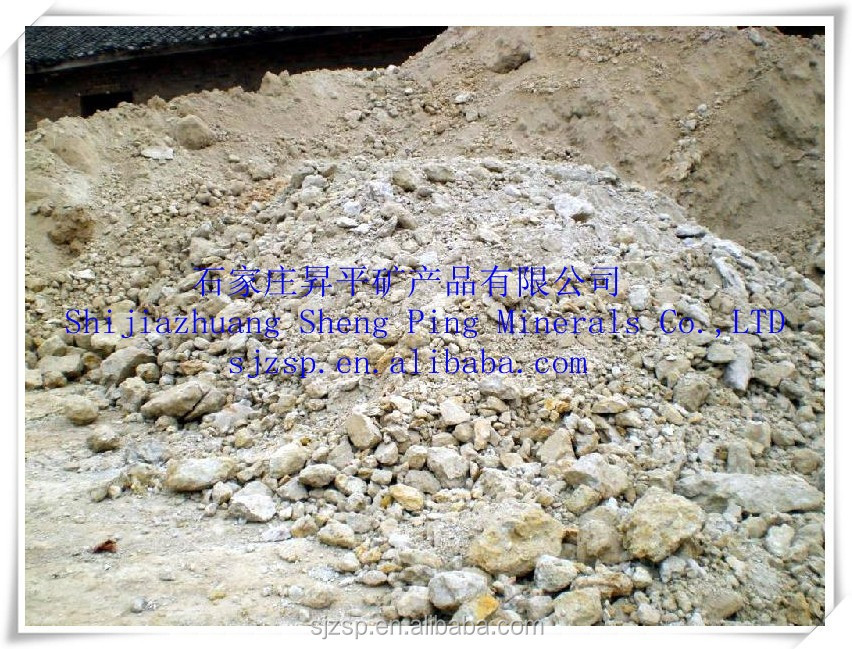 China Calcined Bauxite Gibbsite Bauxite