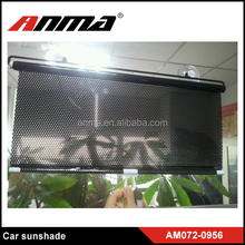 Retractable PVC car sunshade curtain