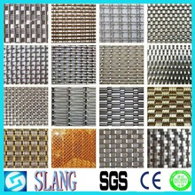 China factory and beautiful curtain wall mesh with decorative wire mesh for cabinets/curtain wire mesh