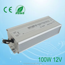 IP67 with good quality 120W 12V waterproof electronic led driver