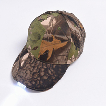 Fashion golf design camouflage dad hat/ led baseball cap
