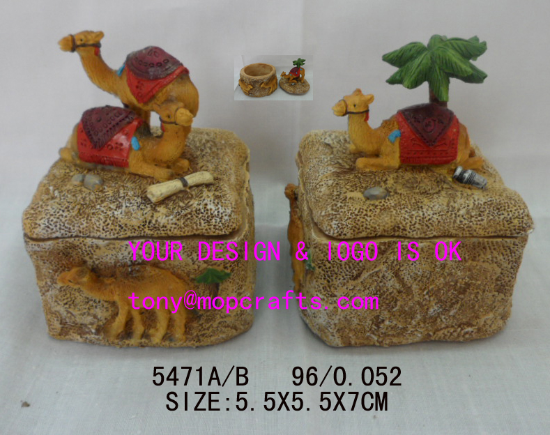 #5471-Wholesale Polyresin camel statue crafts