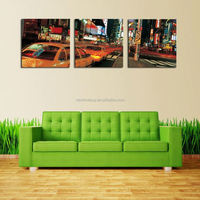 3 Panel Frameless The City At Night Modern Wall Art Home Decoration Print Painting On Canvas Pictures For Living Room Dector