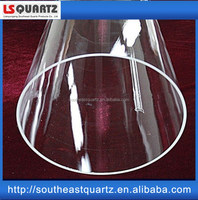 High purity quartz tube of Southeast Quartz for tube furnace with good price