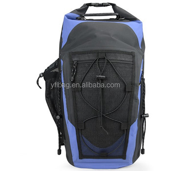 newest fashion waterproof rolling top backpack bag 2019
