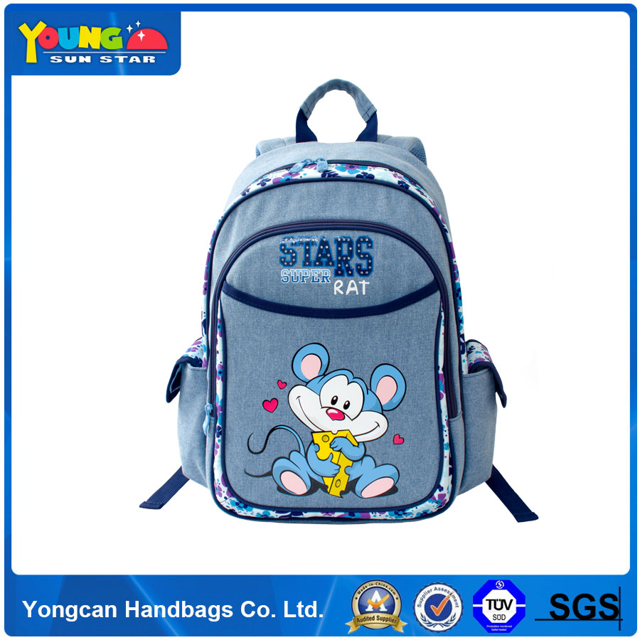 Yiwu 8 years child school bag with side pocket factory