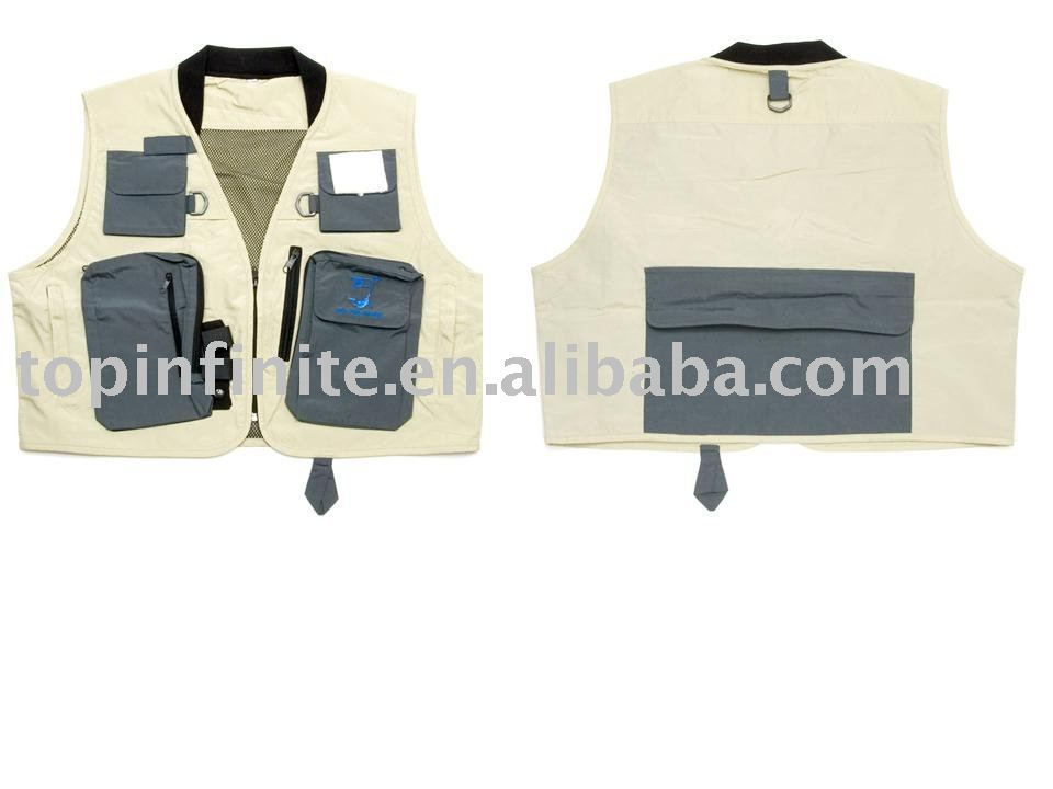 Fishing Vests, life vests, fishing tackle, FV-008