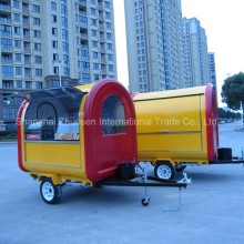 HOT Japanese Commercial Ice Shaver & Snacks & Hard Ice Cream Food Cart Trailer ZS-FT220 B