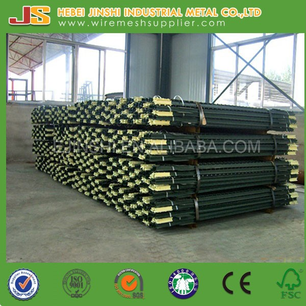 High Quality steel fence posts for sale