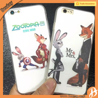 Zootopia protective Bumper cell phone covers Case for iphone5