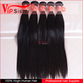 Natural Hair Color Virgin Raw Indian Temple Hair Straight Unprocessed Virgin Straight Hair