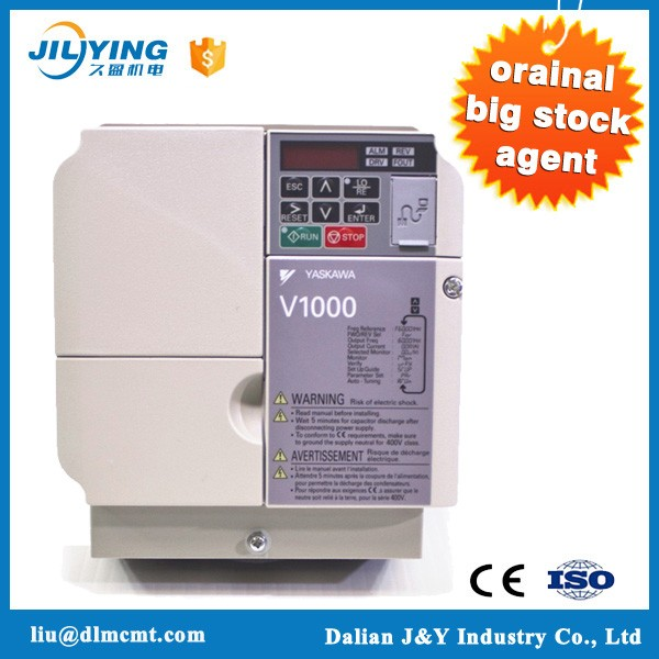 economical yaskawa 1 phase inverter V1000 CIMR-VB4A0001BAA yaskawa variable speed drives v1000