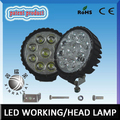 RGD1005 Factory price Epistar super bright waterproof IP68 round 27w led working light for suv