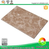 Pre UV Coated Light Weight Interior Decorative Marble Patterned Calcium Silicate Wall Board