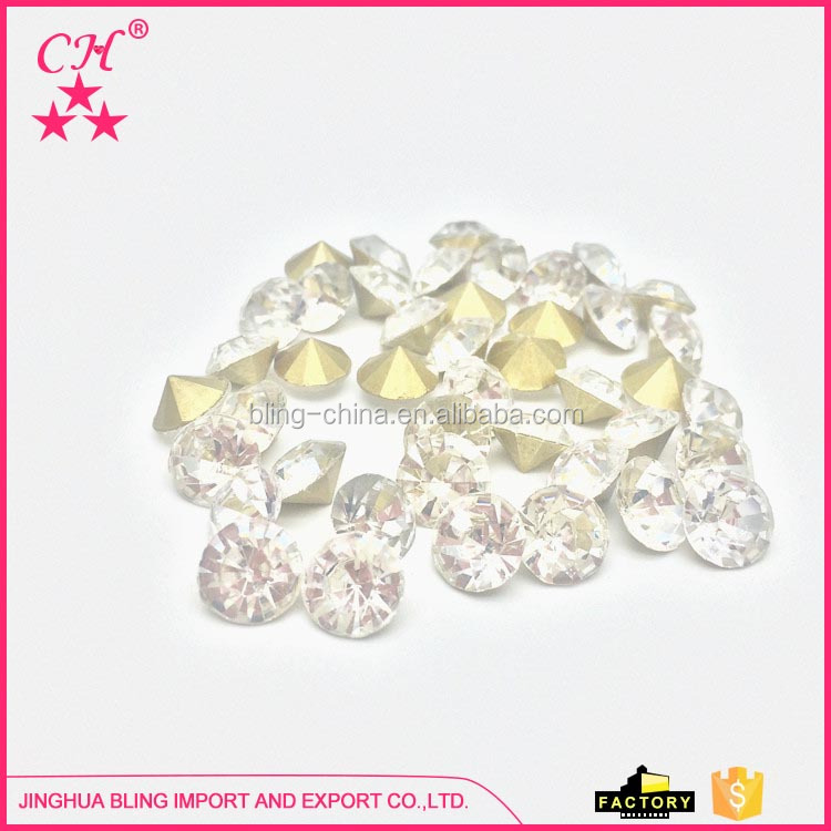 SS 38 Wholesale price new design popular rhinestones for garment