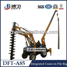 6m depth Compact Tractor Post Hole Digger for sale
