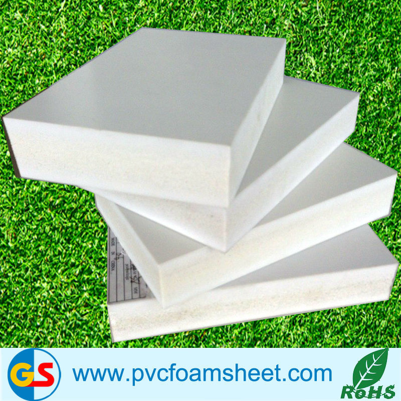 high density black 12mm PVC rigid foam sheet