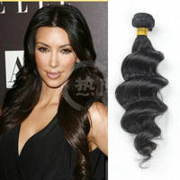 Hot!!!2014 new products arrival brazilian loose deep wave hair weave virgin brazilian loose wave hair extension