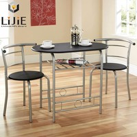 Lijie 2016 formica hpl furniture table and chair with high density laminate board