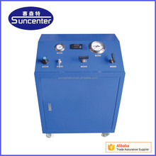 high pressure gas booster pump system for air leak test
