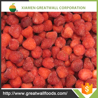 Hot sale new crop Frozen IQF strawberry with good quality