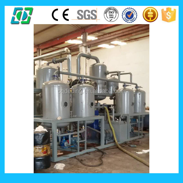 DDA Vacuum Waste Oil Distillation Machine Sludge Oil Recycle Plant