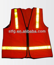 Red Reflective Product Industrial Safety Vest In Bulk