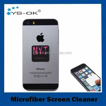 Wholesale advertising microfiber mobile phone screen cleaner