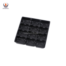 cheap blister thermoforming chocolate insert trays plastic cookie packaging SC-A1-010