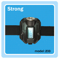 Fashion design USB aluminum LED multifunctional flashlight watch with low price