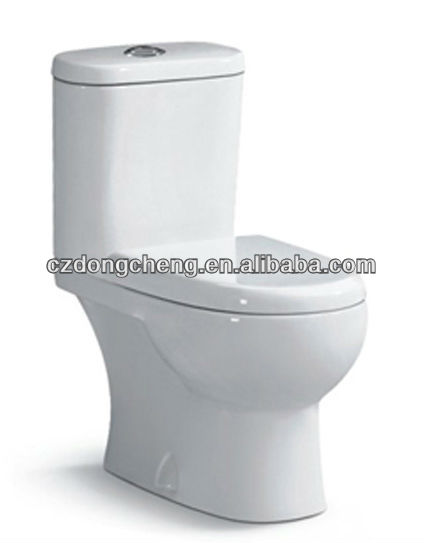 middle east standard water saving washdown two piece toilet