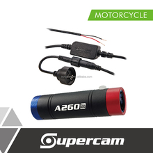 High Quality Full HD Waterproof IP66 Clown Edition Mini Motorcycle DVR Camera with Motorcycle Charger Cable