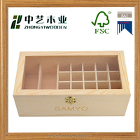 OEM factory luxury wood olive oil boxes