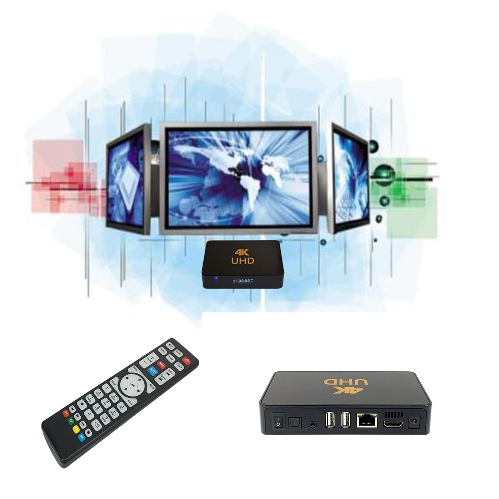 Android Quad Core Smart Tv Streamer Box Media Player Live Streaming Set Top Box With 4k UHD IPTV Receiver