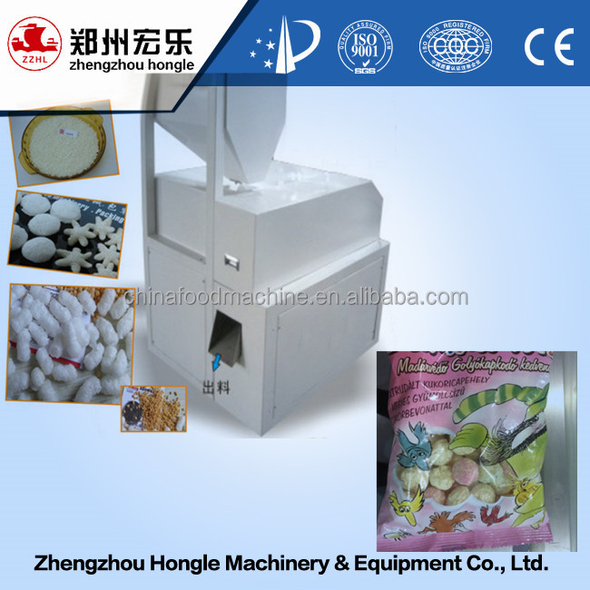 High Efficiency Puffed Rice Cake Machine Puffed Grain Production Line Popped Rice Cake Machines