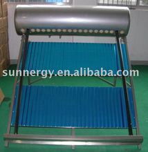 Solar tube well system water heater