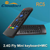 Cloudnetgo Wireless mini 2.4GHz Keyboard Fly Air Mouse with blacklight and amp; laser pointer Universal Remote Control