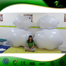 Best Selling Inflatable Cloud shaped balloon,advertising inflatable balloon with custom printing