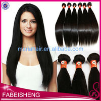 custom packaging private label Indian kinky straight clip in hair extensions