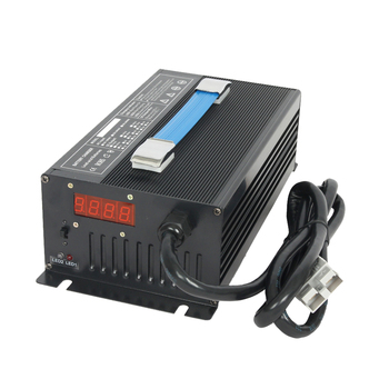 Intelligent lithium 12V 38A Battery Charger for electric tour car