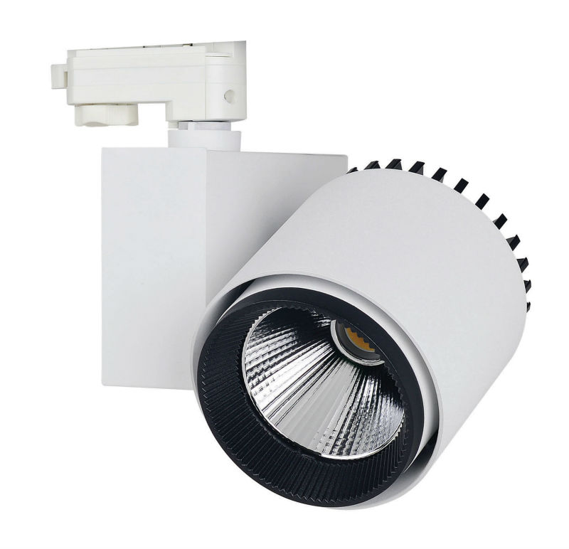 High Power Commercial Gallery Led Track Lighting 35W