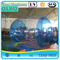 {Qi Ling}Human floating water ball walk on water bubble plastic ball for pool
