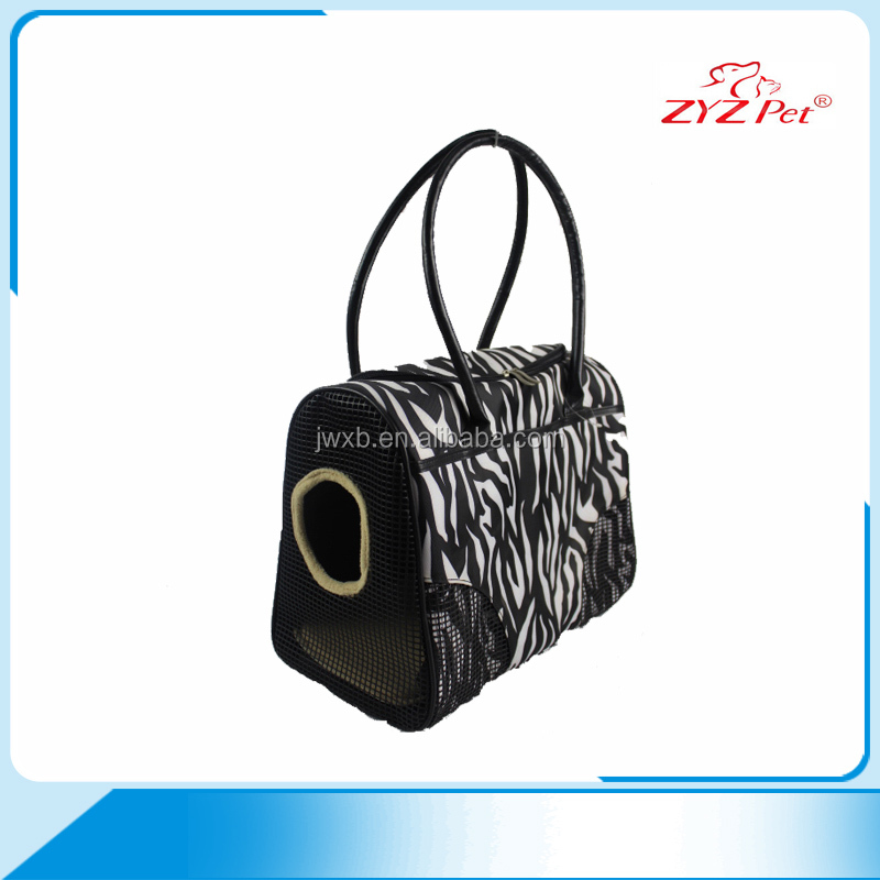 Lastest fashion durable pet carrier bag for small animals