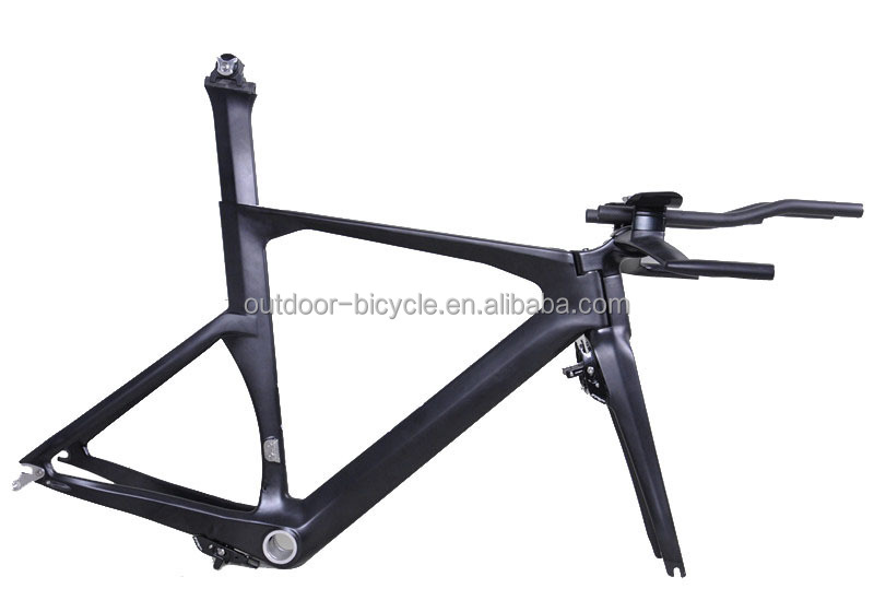 2016 New carbon fiber time trial frameset TT bicycle frame FM069